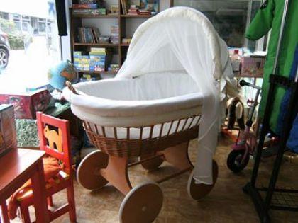 Stubenwagen bollerwagen gebraucht bollerwagen waldin baby mit