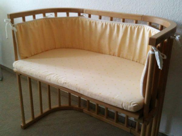 Verleih beistellbett von babybay mieten leihen babybett